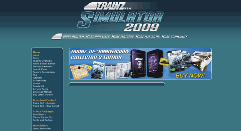 Access ts2009 com  Trainz Simulator 2009