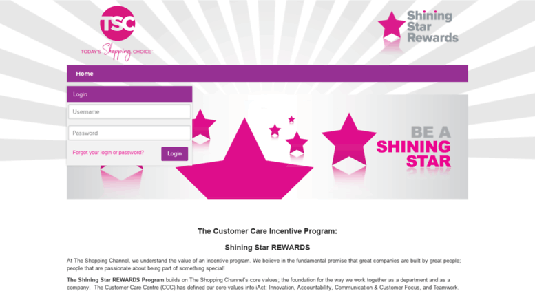 Access tsc achievers com  Rogers - The Shopping Channel - Login