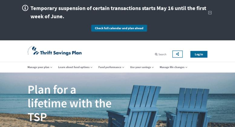 Access tsp gov  Thrift Savings Plan: Home