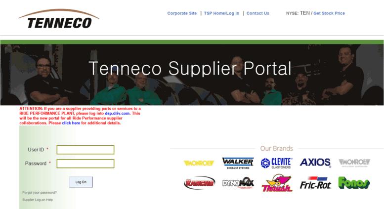 Access Tsptennecocom Sap Netweaver Portal
