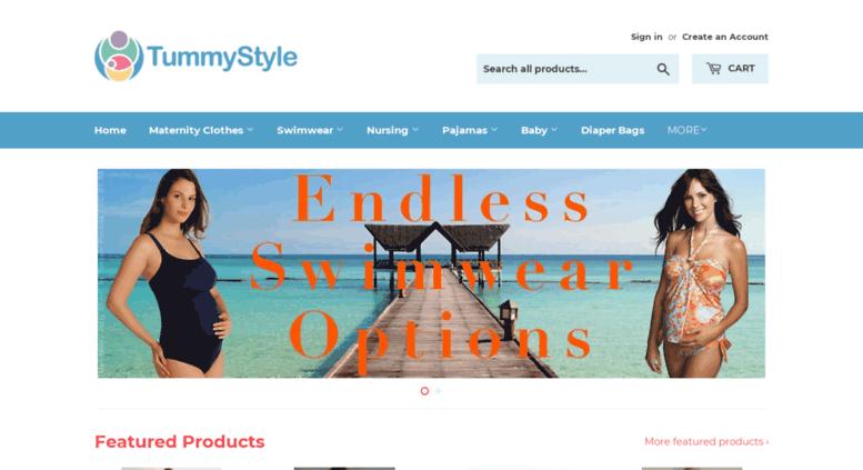67f37378801 Access tummystyle.com. TummyStyle sells fashionable maternity ...