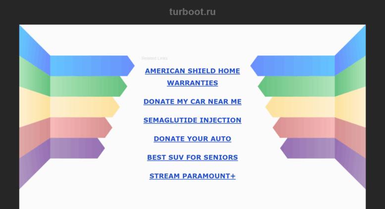 Turboot Ru Screenshot