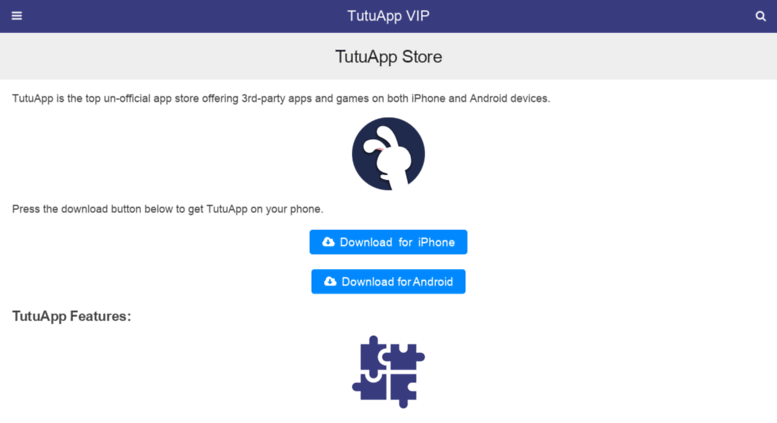 Access tutuappvip org  TutuApp ( iOS and Android )