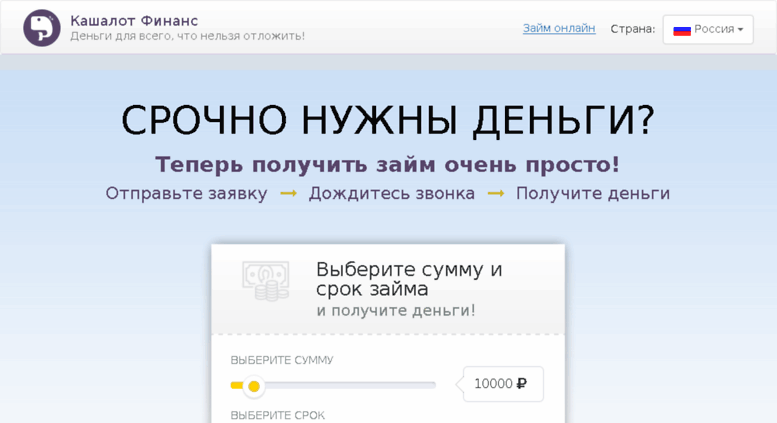 Онлайн заявка на кредит 10000 онлайн заявка на кредит в калининграде