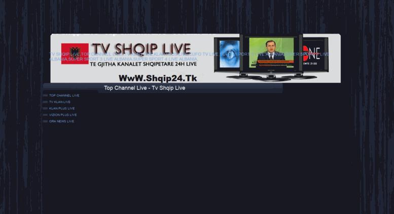 Access Tvshqipalwebscom Top Channel Live Tv Shqip Live Top