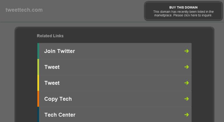 Access tweettech com