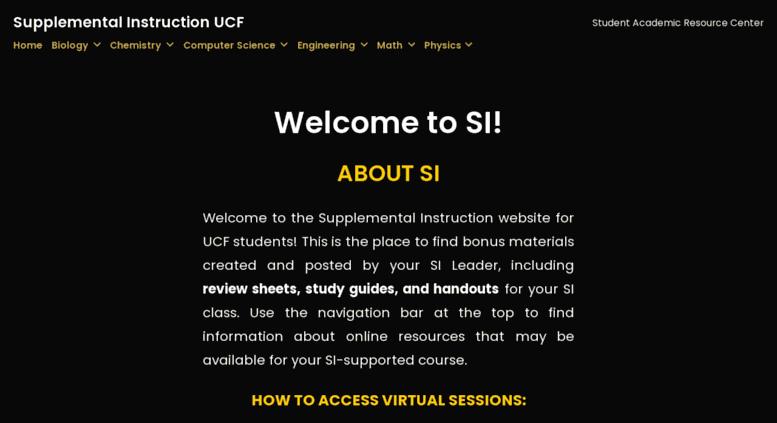 Access Ucfsiwordpresscom Supplemental Instruction Ucf Student