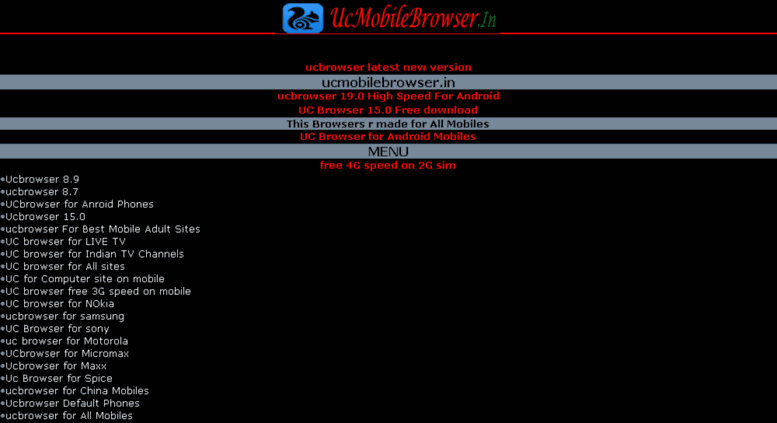 Access ucmobilebrowser in  ucmobilebrowser in :: UC Browser 8 7,UC