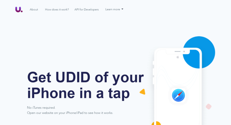 Access udid io  Get UDID or IMEI in one tap  Find UDID of