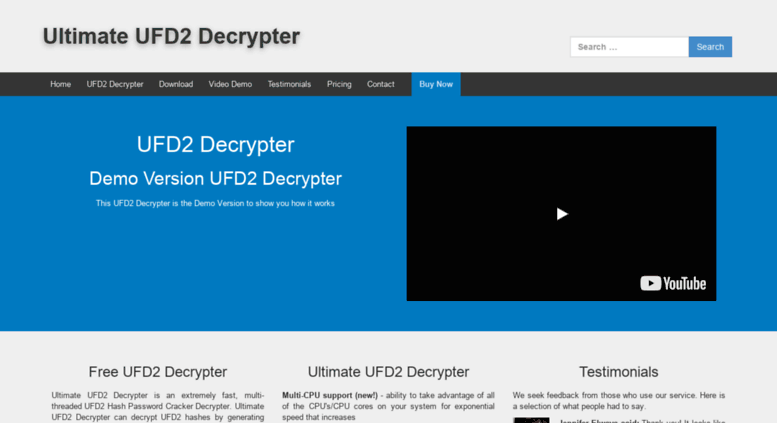 ultimate ufd2 decrypter full version
