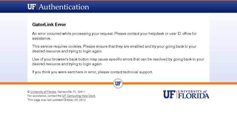 Access ufl cayuse424 com  UF Authentication - GatorLink Login