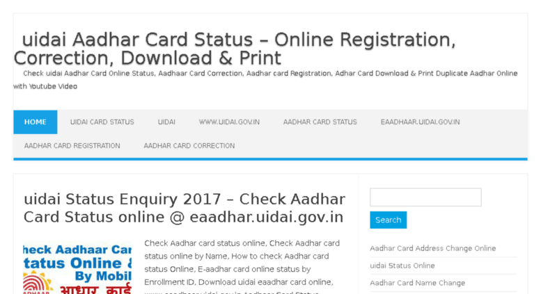 aadhar card download with aadhaar number video