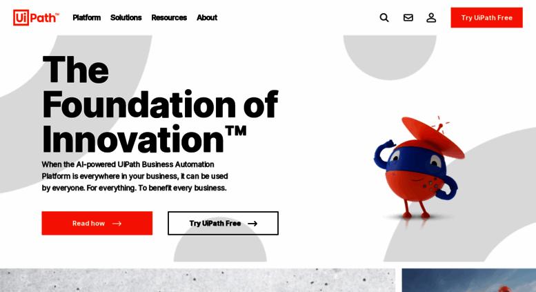 Access uipath com  Robotic Process Automation | UiPath