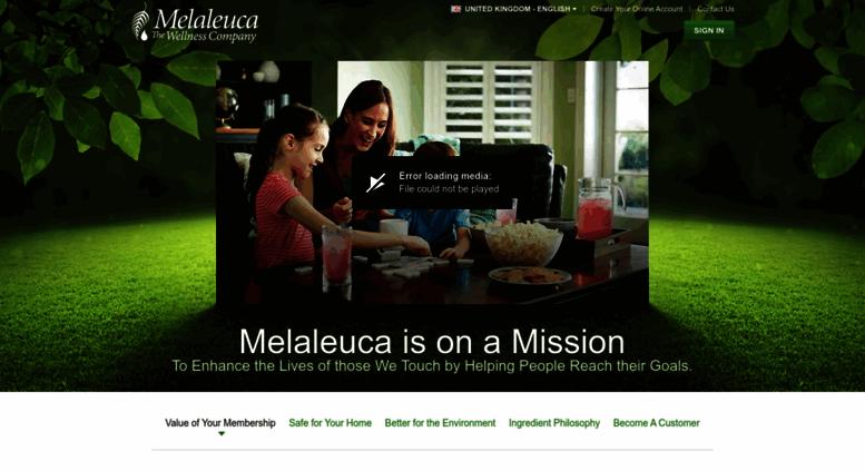 Access Ukmelaleucainfo Information About Melaleuca The Wellness
