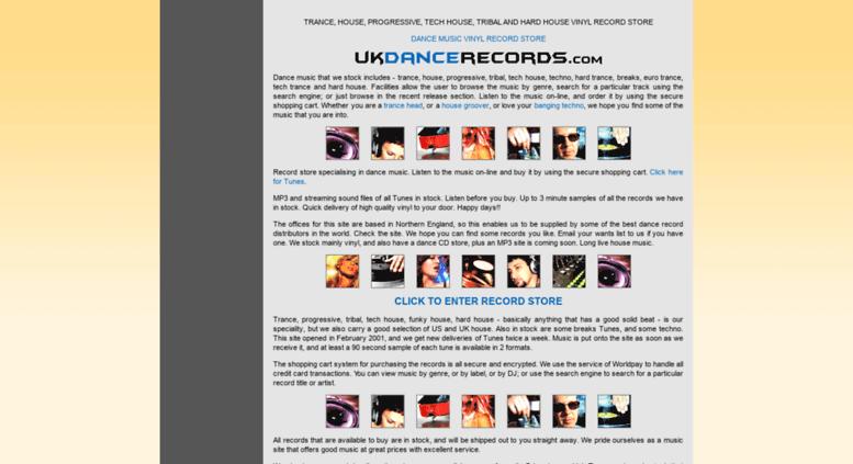Access ukdancerecords com  Vinyl Records - House Trance