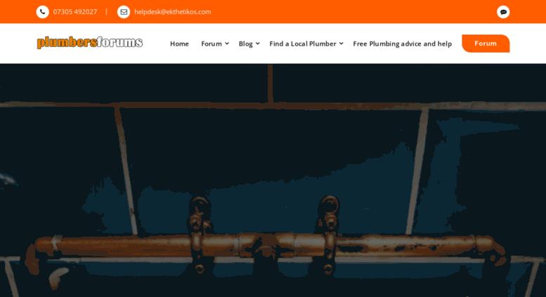 Access ukplumbersforums co uk  Gas Engineer & Plumbing