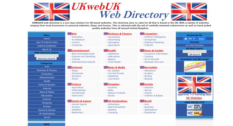 Access ukwebuk co uk  UK Web Directory - United Kingdom Website