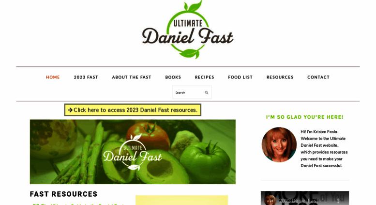 Access Ultimatedanielfast Com Daniel Fast Recipes Daniel Fast Food
