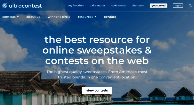 Access ultracontest com  Free Instant Win Sweepstakes and