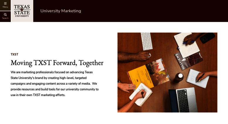 Access umktg txstate edu  University Marketing : Texas State University