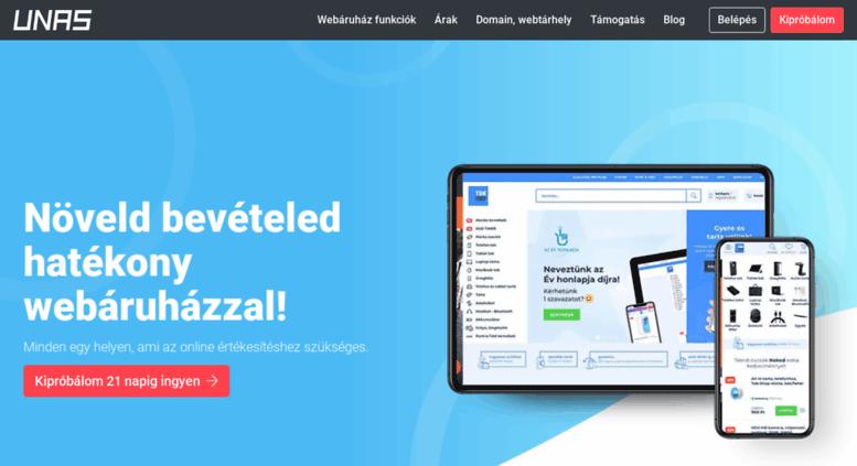 2e46fb217c Access unasshop.hu. Webáruház készítés, Webáruház fejlesztés ...