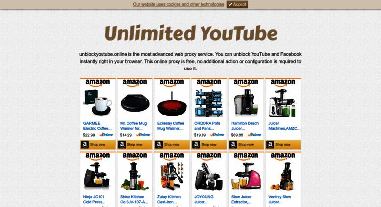 Unblockyoutube  Unblock YouTube  2019-03-08