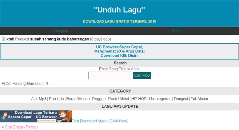 Access unduhlagu wapka me  Index of Free Download MP3