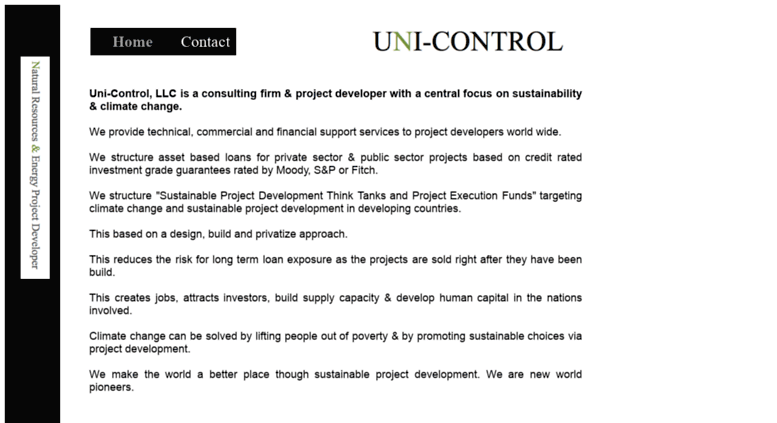Access unicontrol inc.com. Direct Pay Letter of Credit   Project
