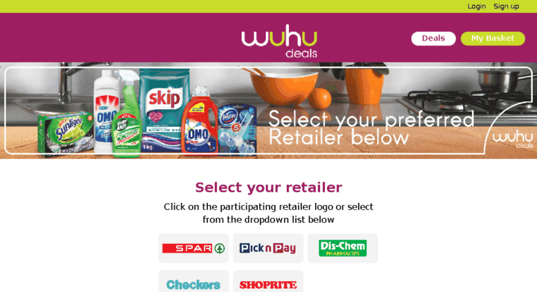 unilever mobi coupons