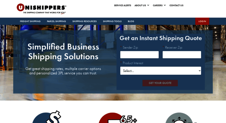 Access unishippers com  Unishippers - 3PL Freight Shipping