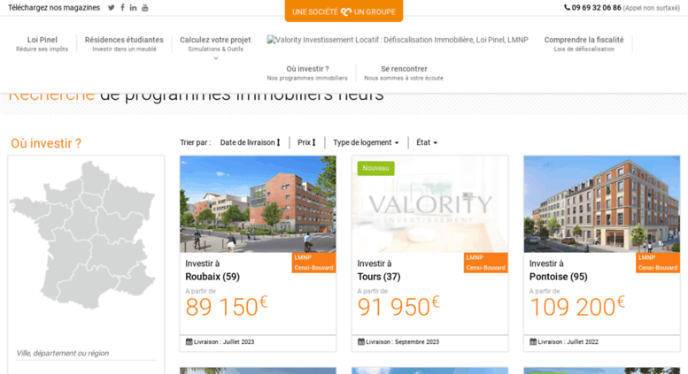 investir immobilier 63