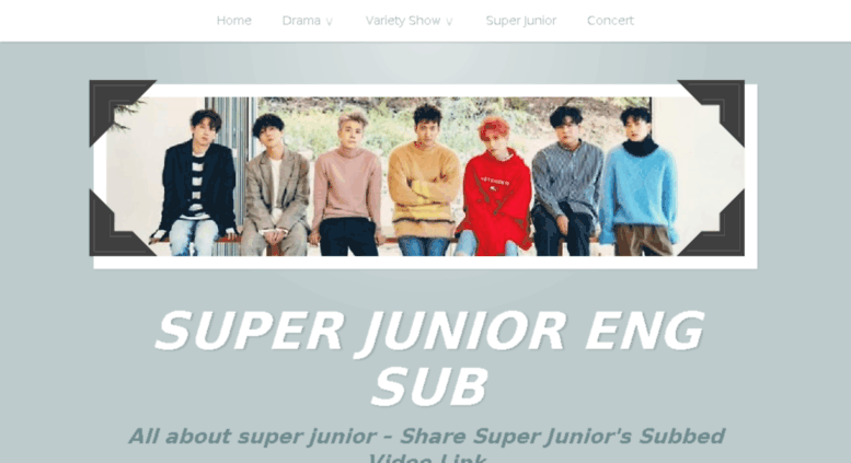 Access unknownelf wordpress com  SUPER JUNIOR ENG SUB – All about