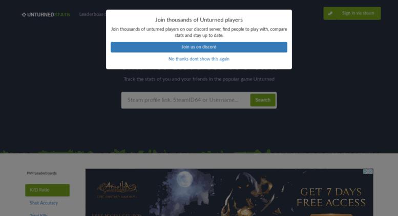 Access unturnedstats com  Captcha