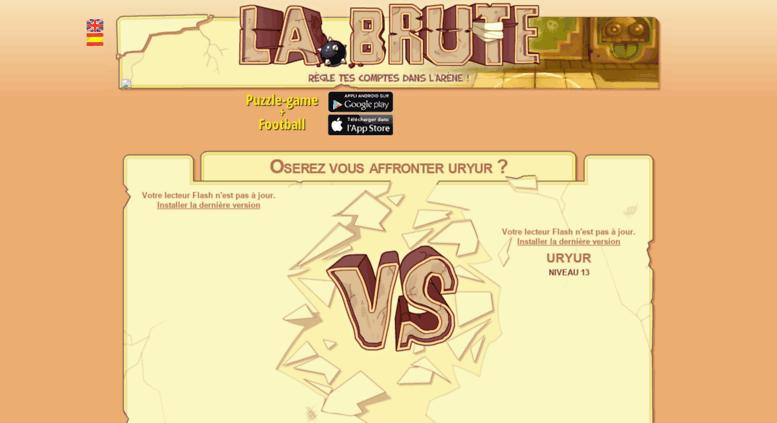 Access uryur labrute fr  uryur La Brute