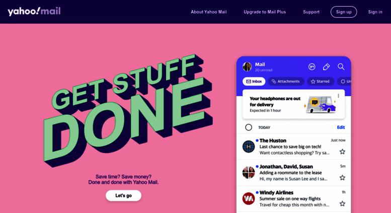 Access us-mg205.mail.yahoo.com. Yahoo Mail