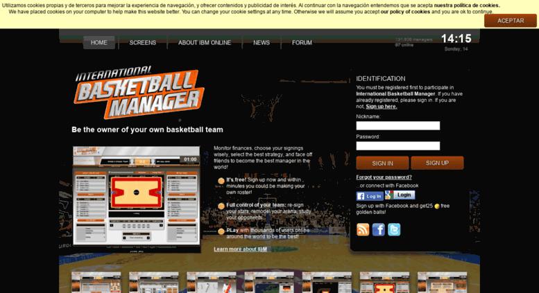 Access Us Ibasketmanager Com International Basketball Manager U
