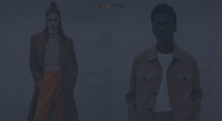 Access us.sandro . Official Eshop SANDRO | Fall