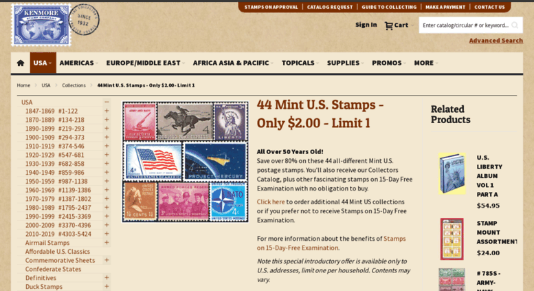 Access Usamintstamps US Mint Stamps
