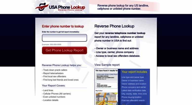 Website Owner Lookup >> Access Usaphonelookup Com Reverse Phone Lookup Any Landline