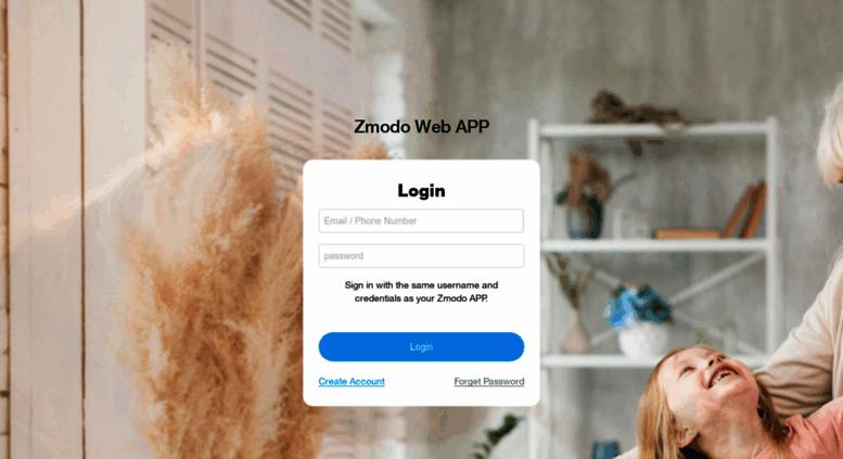 Access user zmodo com  App
