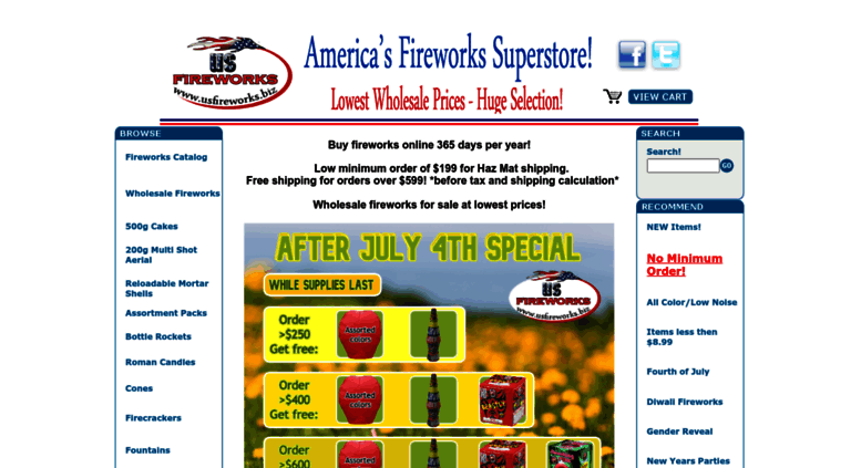 Access usfireworks biz  Buy Fireworks Online-Fireworks for sale