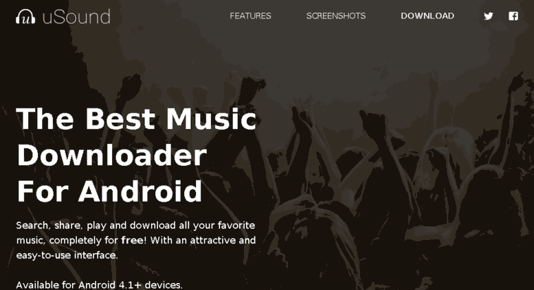 Access usound mobi  uSound Ares | The best music downloader for Android