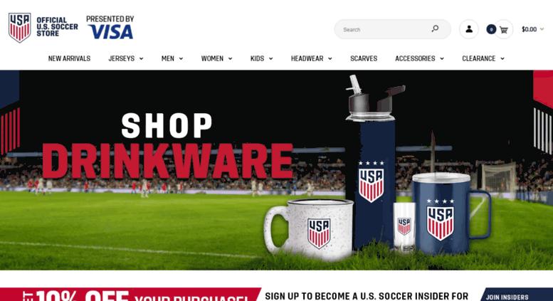 Access ussoccerstore.com. US Soccer  e60b718a26ae