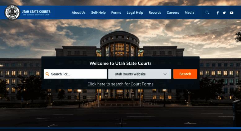 Access Utcourts Gov Utah Courts