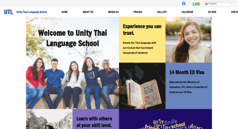 Access utl-school com  UTL : Unity Thai Language School