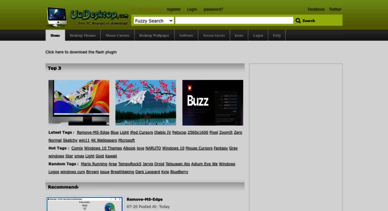 Access uudesktop com  free Desktop Themes, Windows 8 Themes, Windows