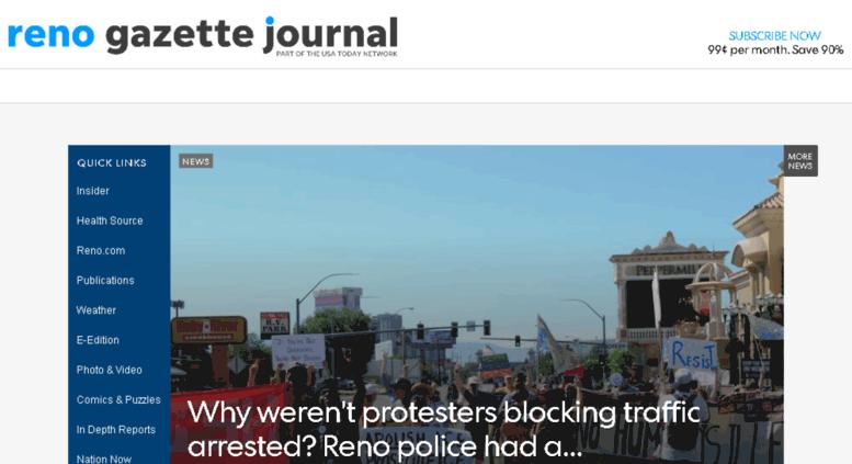 Access ux rgj com  Reno Gazette-Journal | Reno news