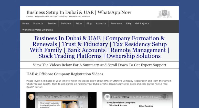 access varaluae com business setup in dubai united arab emirates