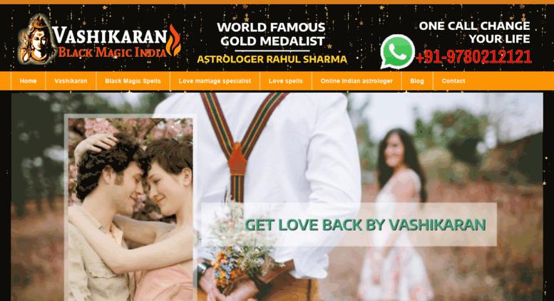Access vashikaranblackmagicindia com  Vashikaran Black Magic