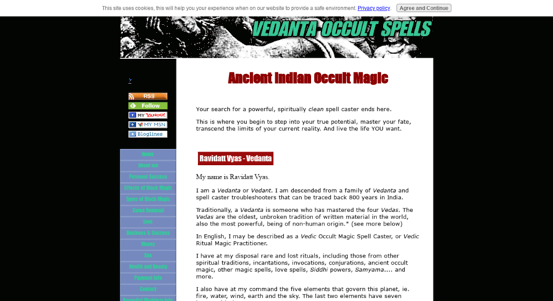 Access vedanta-occult-spells com  Occult Magic Spells by gifted